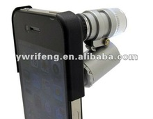 for iphone4 camera microscope with 2 led light ang 1 uv light 60x