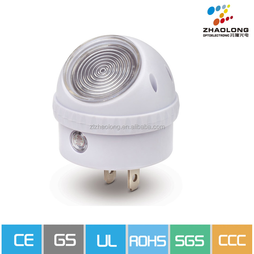 affordable 360 degree rotation plug in led night light