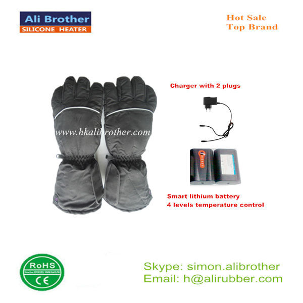 OEM and ODM lithium battery heat therapy gloves for arthritis