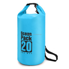 2017 outdoor PVC material waterproof dry bag for camping swimming diving