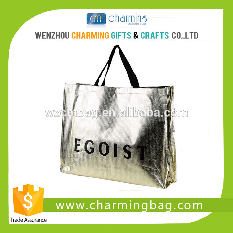 140gsm Promotional Croco PP Non Woven Shopping Bag