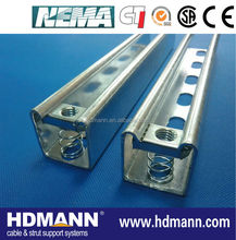 hot dipped galvanized unistrut channel manufacture