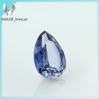 Pear Cut 32# Synthetic Blue Sapphire Stone