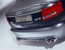 UNPAINTED RS6 TYPE 3PCS TRUNK BOOT LIP SPOILER FOR AUDI A6 C6 2007-2011 A042F