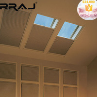 RRAJ Motorized Retractable Honeycomb Curtain Awning