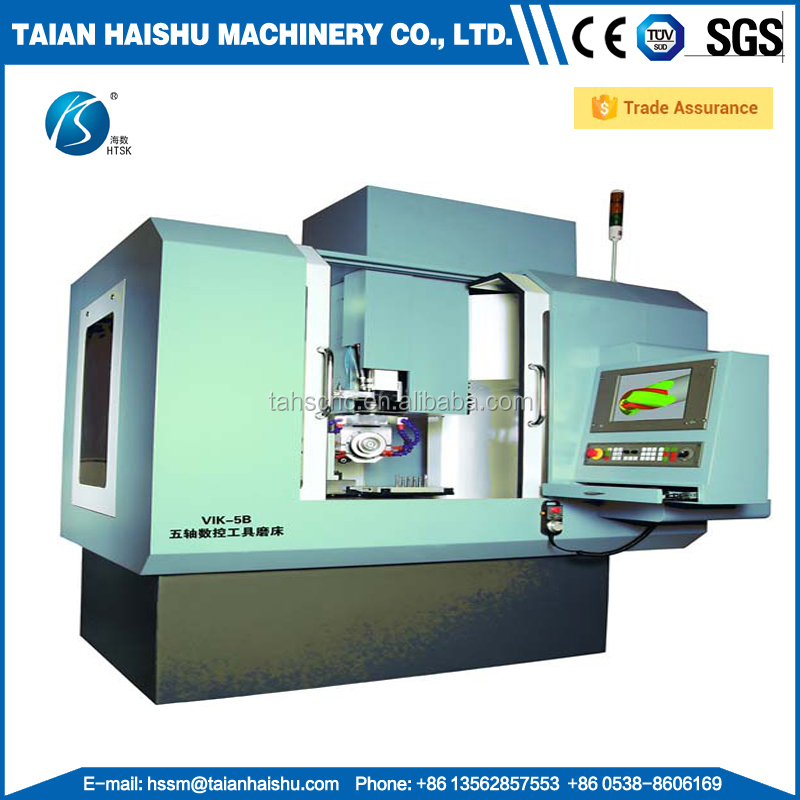 5-axis cnc tool and cutter grinding machine VIK-5B knife making grinder for sale