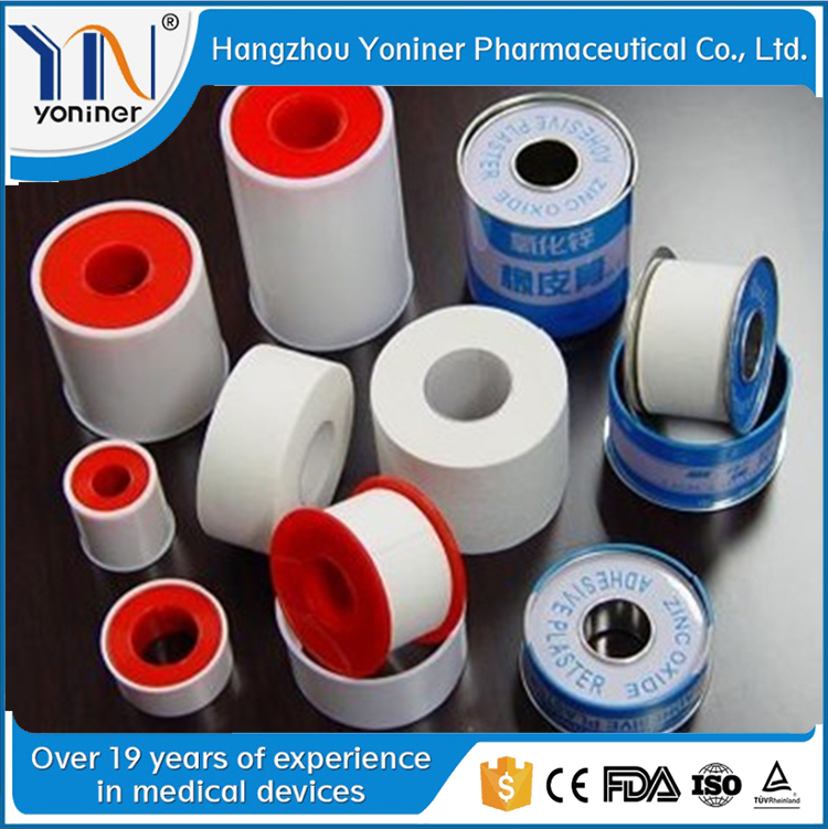 surgical zinc oxide medical tape transparent infusion plaster tape