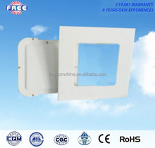 12w led panel light shell 6 inch aluminum alloy square hot sell and wilely used for high-end interior lighting lamps