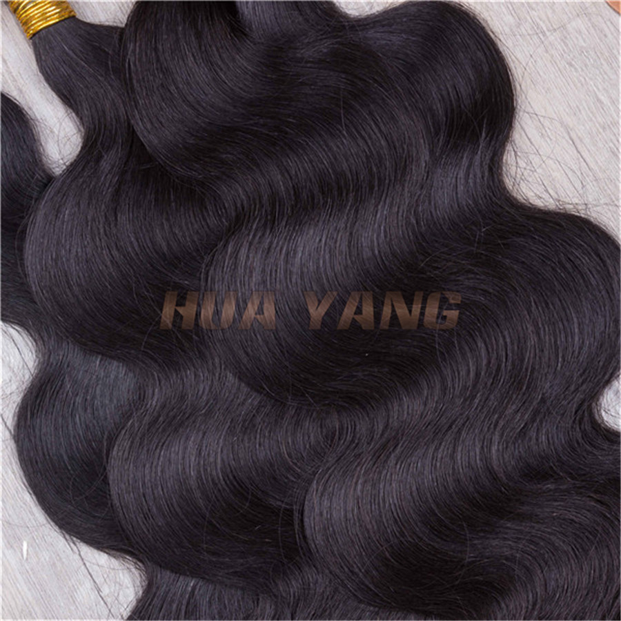 6A 7A 8A Unprocessed 100% Remy Hair Weaving Brazilian Human Hair Extensions High Quality Natural Color Trio Brazilian Body Wave