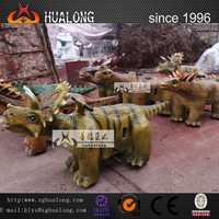 Fairground Rides Animatronic Animatronic Dinosaur Carving and Frp Dinosaur Model