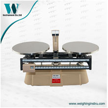 MB-2000 2kg 0.1g double weighing pan mechanical beam balance