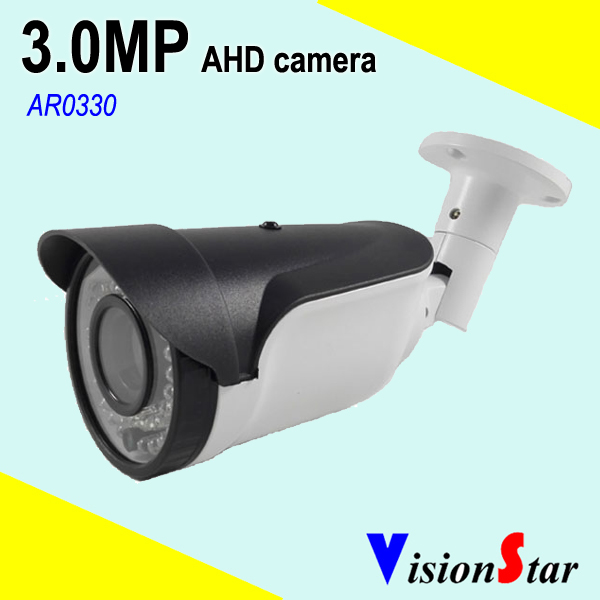 VisionStar zoom lens camera 1080p bullet analog outdoor indoor night vision cctv security system