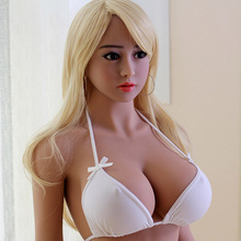 buy on alibaba 158cm big breast tanned real skin sex doll Vagina/anal/mouth