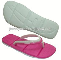 Once Injection flip flops back strap for footwear and promotion,light and comforatable