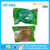 Heat seal front clear back foil plastic packaging bag pouch for beef jerky