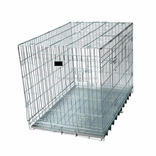 folded steel zinc cat cage indoor or outdoor cage