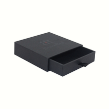 Alibaba China Pull Out Black Cardboard Paper Drawer Gift Jewelry Packaging Paper Box