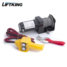LIFTKING 3000lb 4x4 Recovery Truck Winch 12V Electric ATV Winch
