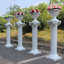 High quality polyurethane moulding w HD-CL023 wedding decoration pillar and column for sale