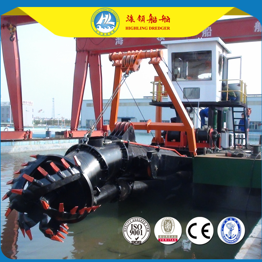 14 Inch Cutter Suction Dredger,sand eccavating,river dredging