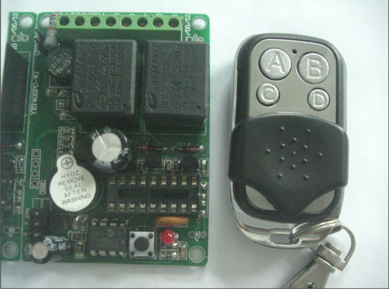 12CH RF Wireless Remote Control Transmitter & Receiver MC026