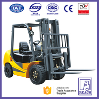 3 Ton Gasoline Powered Good Function of Forklift Truck for Sale