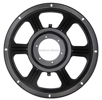 PRO AUDIO CAR AUDIO HIFI SPEAKER PARTS STEEL IRON MATERIAL FRAME BASKET WOOFER