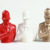 make custom 6-inch plastic toy/custom red blank police bust statues vinyl toys for home decor
