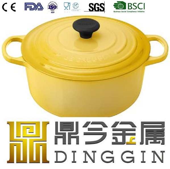 Enameled Cast Iron Casserole /Cookware