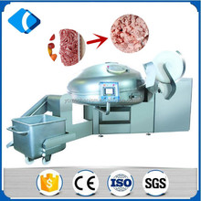stainless steel vacuum sausage meat bowl chopper cutter mixer