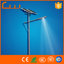 Hot selling products 24v 50w solar power LED street light with 120w mono panel