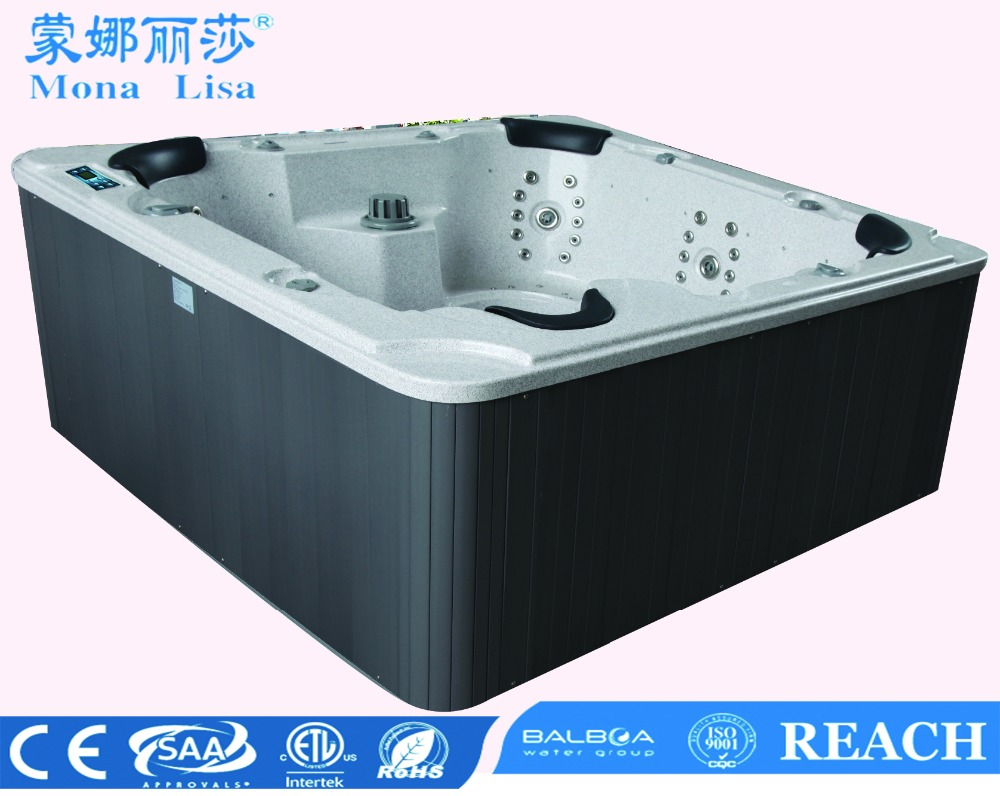 Quality SAA CE Approved USA Balboa Panel Luxury SPA Outdoor Leisure Hot Tub (M-3321A)