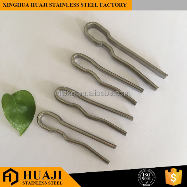 Stainles Steel Lock Safety Split Spring Cotter R Pin