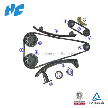 Timing chain kit used for 1az-fe/1az-fse /2az-fe