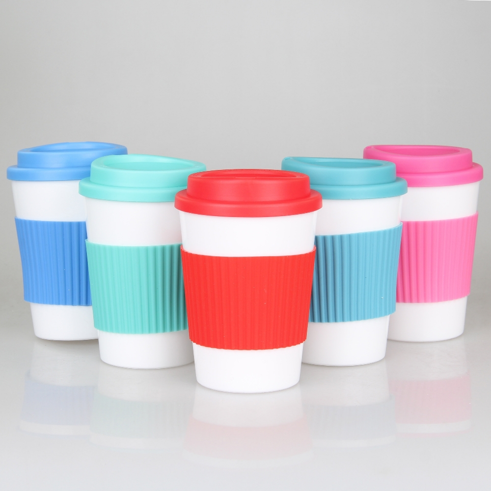 12OZ bpa free double Layers Plastic Cup