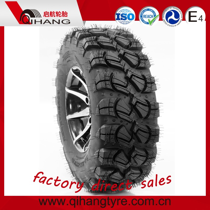 25X8-12 25X10-12 ATV TYRE, UTV TYRE, 4X4 UTV TYRE with DOT, REACH STANDARD