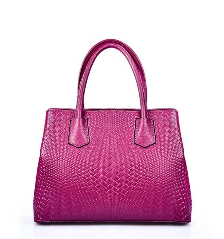 High Quality New Design Fashion wowen PU Leather Hand Bags from China distributors