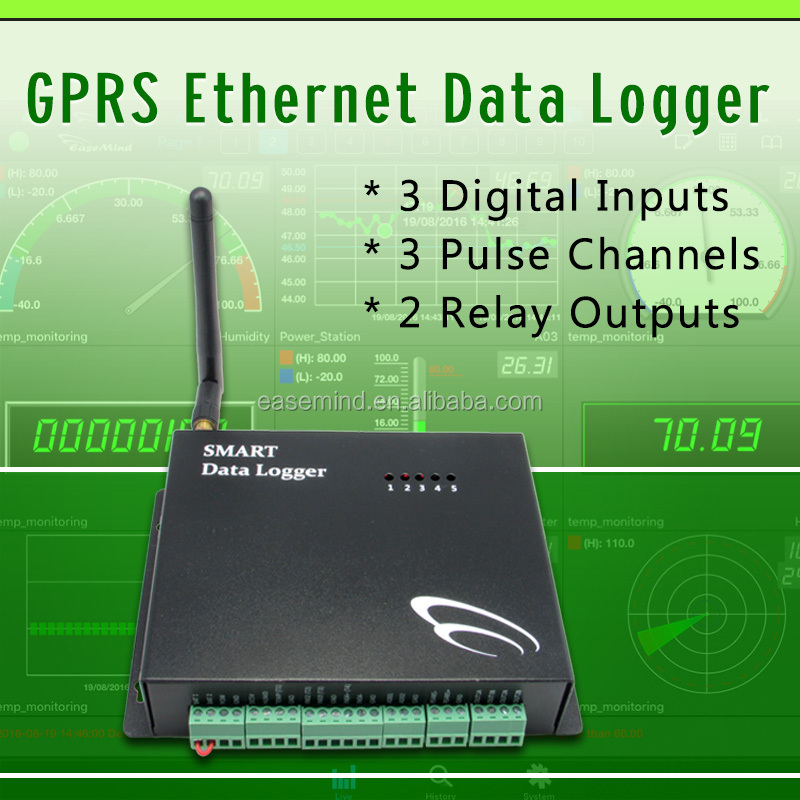 GSN4-HV GPRS Ethernet Data Logger for grain moisture controller