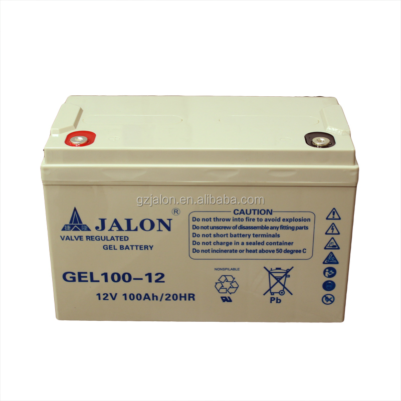 12V100AH valve regulated lead acid battery 12v