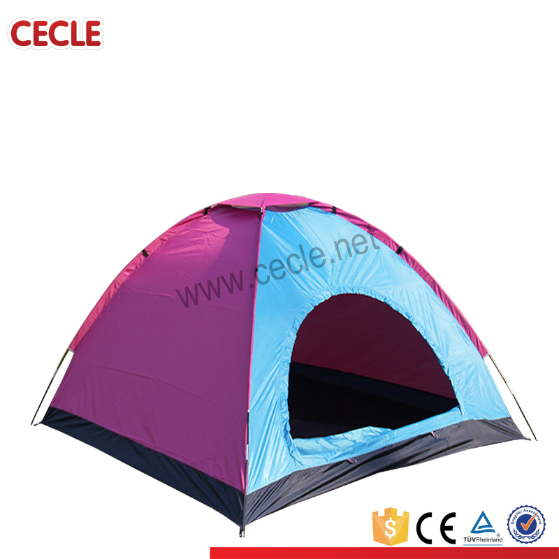 Low price strong pole camping tents