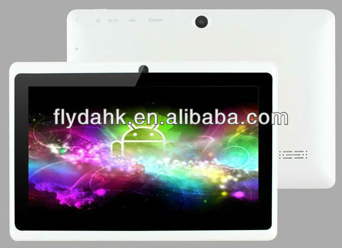 "7"" Android 4.0 Allwinner A13 dual camera tablet pc MID Q89"