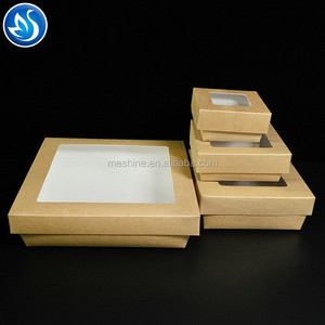 Food grade paper packaging high quality cooked food box