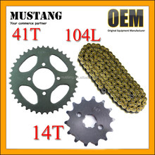 CD70 Sprocket and Chain Small and Big Sprockets