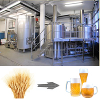 Automatic 100 2000L Beer Brewery Equipment