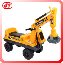 Kids ride on excavators with music children toy pedal tractors baby walker car EN71
