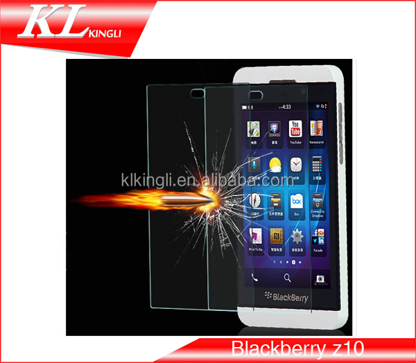2016 Tempered Glass Screen Protector Film for mobile phone Blackberry z10