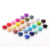 Food Grade Chew Jewelry China Wholesale Wholesales Silicone Flat Round Beads