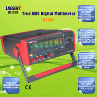 UT803 100kHz True RMS Bench Type Digital Multimeter With RS232C USB Interface, LCD Backlight Display, Data Hold, Auto-Ranging