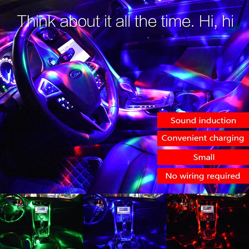 Music MP3 car roof top ceiling DJ light