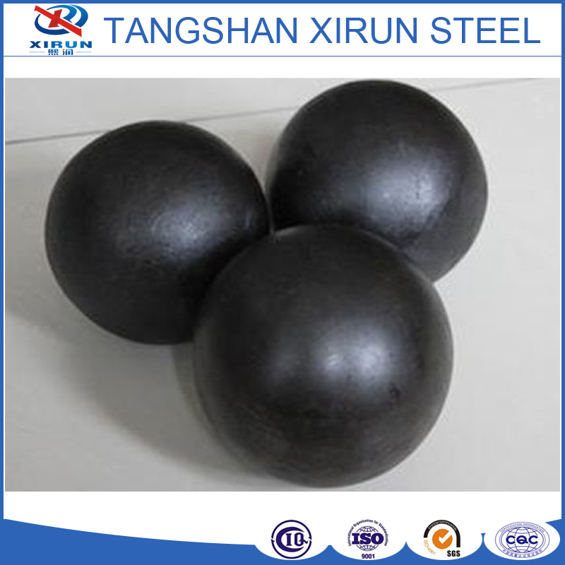 GCR15 EN31 bearing steel material hot rolled grinding balls for ball mill